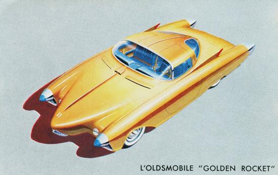 Oldsmobile Golden Rocket France 1956 | Vintage Cars 1891-1970