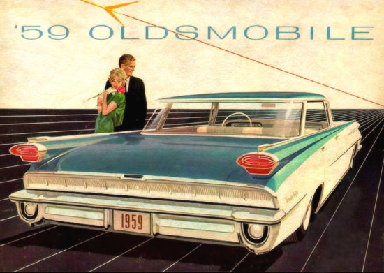 Oldsmobile Ninety Eight 1959 | Vintage Cars 1891-1970