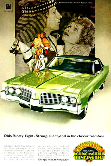 Oldsmobile Ninety-Eight 1969 Strong Classic | Vintage Cars 1891-1970