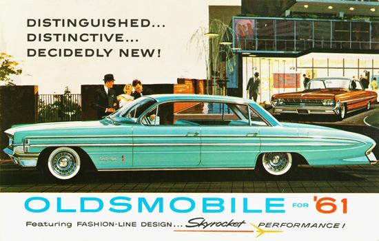 Oldsmobile Ninety Eight Holiday Sedan 1961 | Vintage Cars 1891-1970