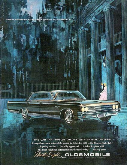 Oldsmobile Ninety-Eight Luxery 1963 | Vintage Cars 1891-1970