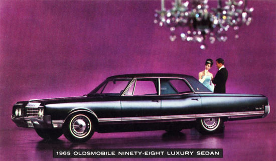 Oldsmobile Ninety Eight Luxury 1965 Chandelier | Vintage Cars 1891-1970