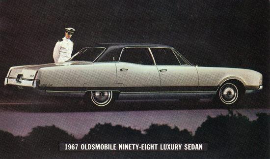Oldsmobile Ninety Eight Luxury 1967 Navy | Vintage Cars 1891-1970