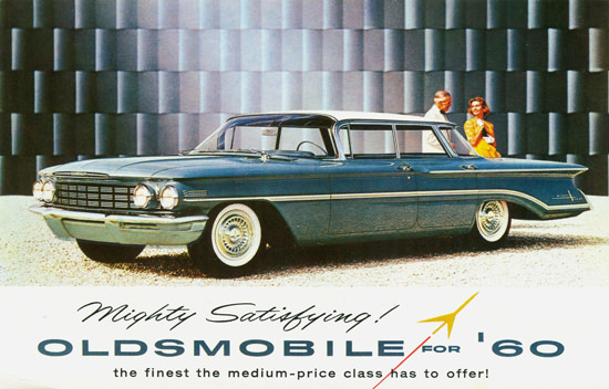 Oldsmobile Ninety Eight Sport Sedan 1960 | Vintage Cars 1891-1970