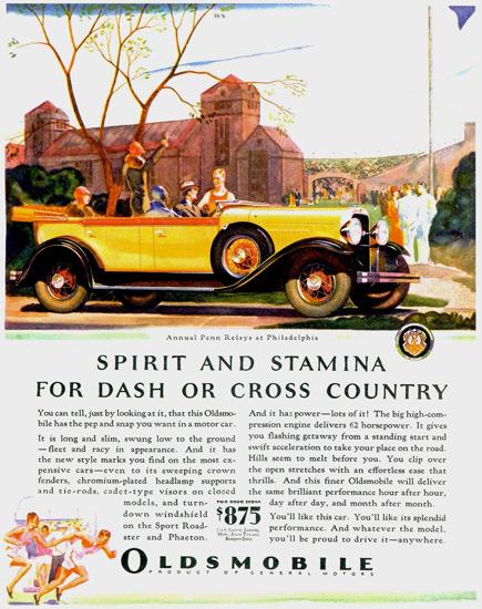 Oldsmobile Phaeton 1929 Spirit And Stamina | Vintage Cars 1891-1970