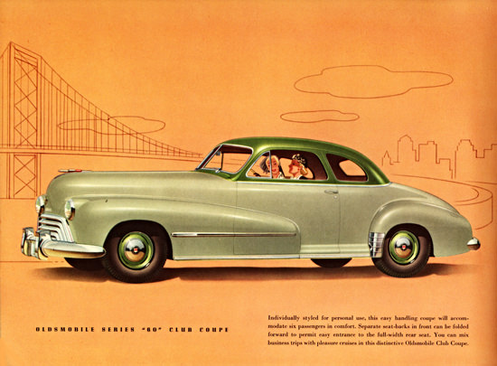 Oldsmobile Series 60 Club Coupe 1948 | Vintage Cars 1891-1970