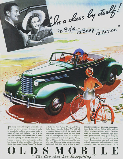 Oldsmobile Six Convertible Coupe 1937 | Vintage Cars 1891-1970