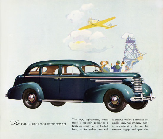 Oldsmobile Six Four Door Touring Sedan 1937 | Vintage Cars 1891-1970