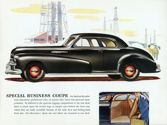 Oldsmobile Special Business Coupe 1942 Oil | Vintage Cars 1891-1970