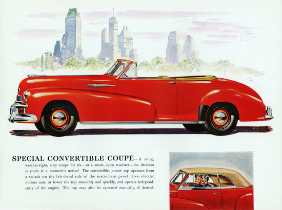 Oldsmobile Special Convertible 1942 NYC | Vintage Cars 1891-1970