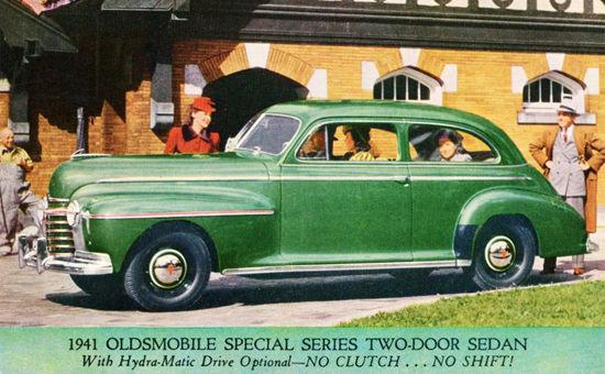 Oldsmobile Special Series Sedan 1941 | Vintage Cars 1891-1970