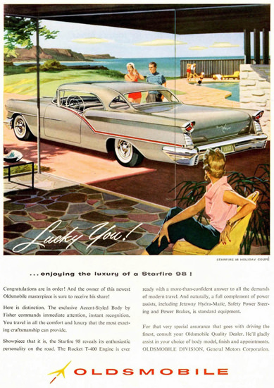 Oldsmobile Starfire 98 Coupe 1957 Lucky You | Vintage Cars 1891-1970