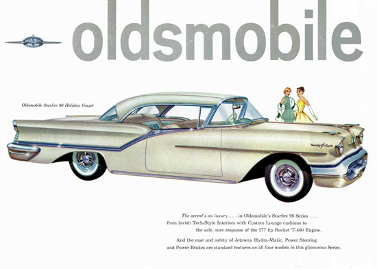 Oldsmobile Starfire 98 Holiday Coupe 1957 | Vintage Cars 1891-1970