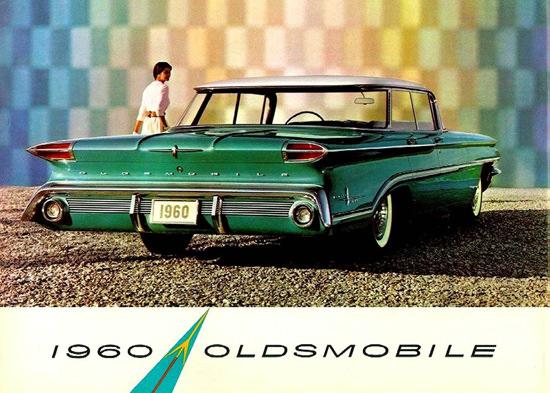 Oldsmobile Super 88 4 Door Hardtop 1960 | Vintage Cars 1891-1970