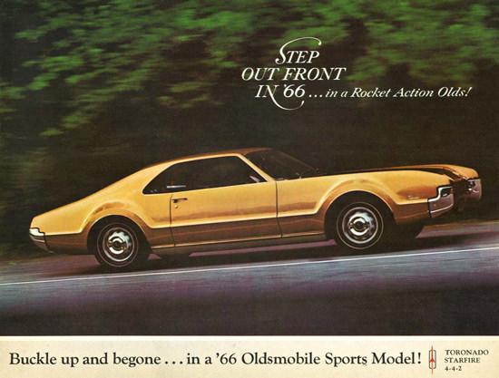 Oldsmobile Toronado 1966   Vintage Cars 1891-1970