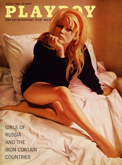 Olga Schoberova Playboy Magazine 1964-03 Copyright Sex Appeal | Sex Appeal Vintage Ads and Covers 1891-1970