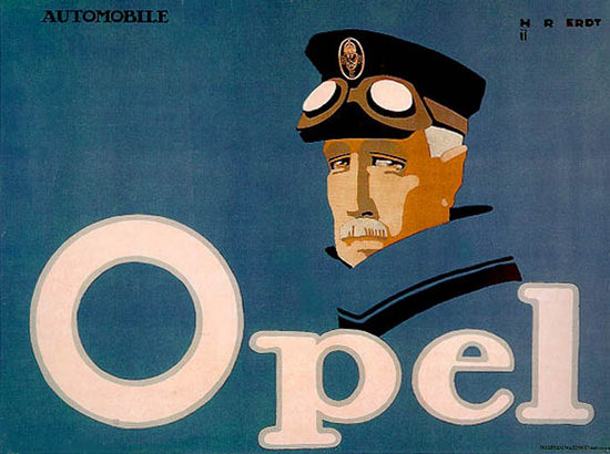 Opel Automobile Hans Rudi Erdt 1911 | Vintage Cars 1891-1970