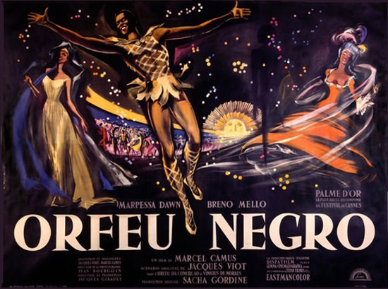 Orfeu Negro Palm D Or Marcel Camus | Sex Appeal Vintage Ads and Covers 1891-1970