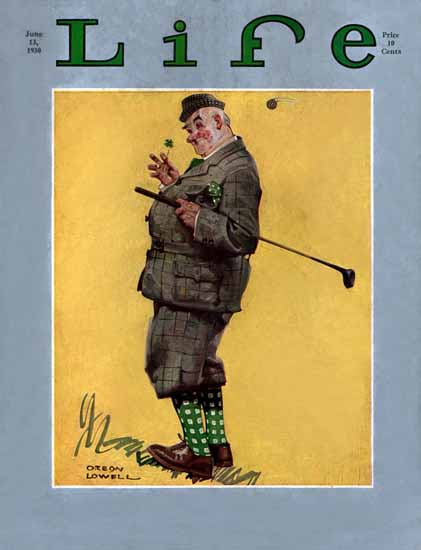 Orson Lowell Life Humor Magazine 1930-06-13 Copyright | Life Magazine Graphic Art Covers 1891-1936