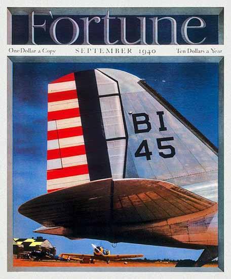 Otto Hagel Fortune Magazine September 1940 Copyright | Fortune Magazine Graphic Art Covers 1930-1959