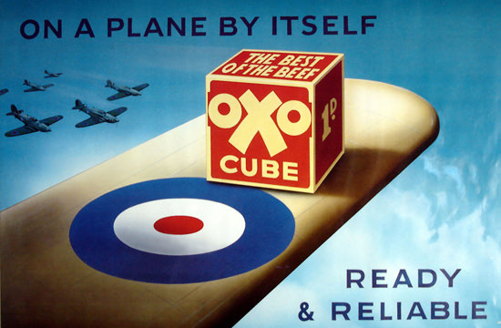 Oxo Cube The Best Of The Beef | Vintage War Propaganda Posters 1891-1970