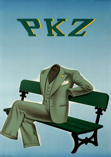 PKZ Switzerland 1937 Fashion | Vintage Ad and Cover Art 1891-1970