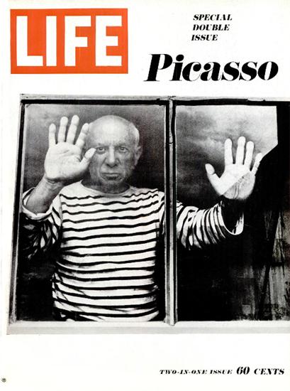 Pablo Picasso Metamorphosis 27 Dec 1968 Copyright Life Magazine   Life Magazine BW Photo Covers 1936-1970