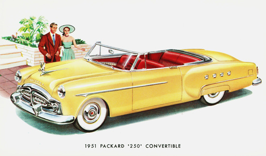 Packard 250 Convertible 1951 | Vintage Cars 1891-1970