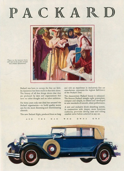 Packard Automobile Middle Ages | Vintage Cars 1891-1970