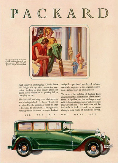 Packard Automobile Rome | Vintage Cars 1891-1970