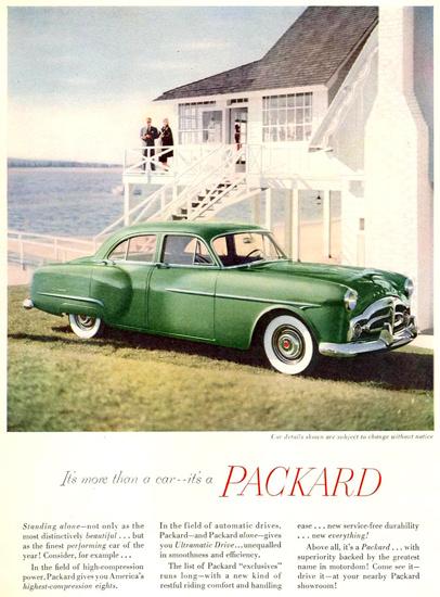 Packard Beach House 1951 | Vintage Cars 1891-1970