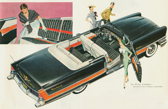 Packard Caribbean Convertible  1956 | Vintage Cars 1891-1970