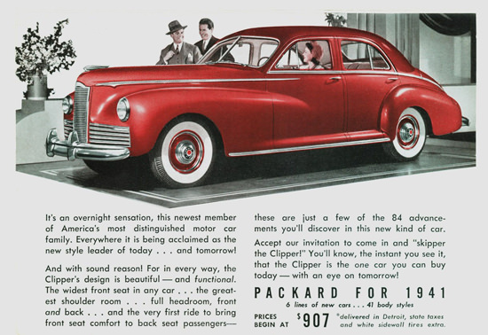 Packard Clipper 1941 | Vintage Cars 1891-1970