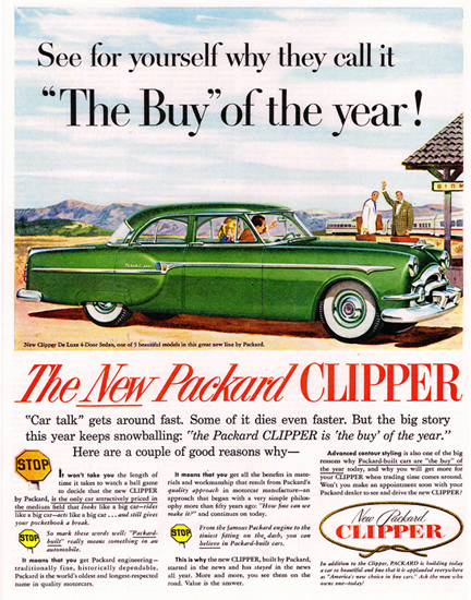 Packard Clipper DeLuxe 1953 Buy Of The Year | Vintage Cars 1891-1970