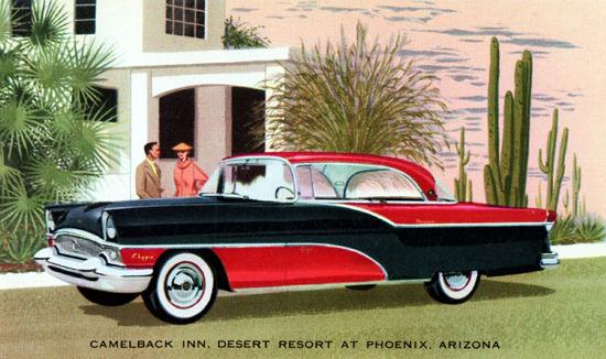 Packard Clipper Panama 1955 Camelback Inn Phoenix | Vintage Cars 1891-1970