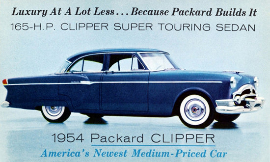 Packard Clipper Super Touring Sedan 1954 | Vintage Cars 1891-1970
