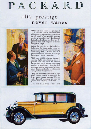 Packard Club Sedan 1929 | Vintage Cars 1891-1970