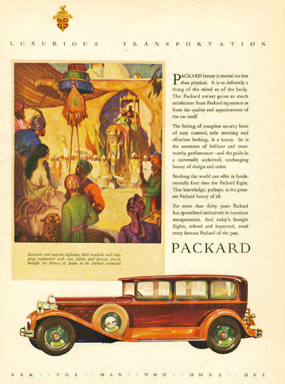 Packard Eight 1929 | Vintage Cars 1891-1970
