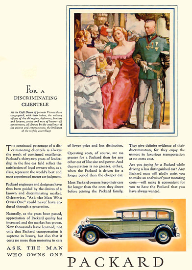 Packard For A Discriminating Clientele | Vintage Cars 1891-1970