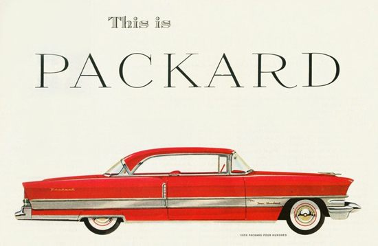 Packard Four Hundred Hardtop 1956 | Vintage Cars 1891-1970
