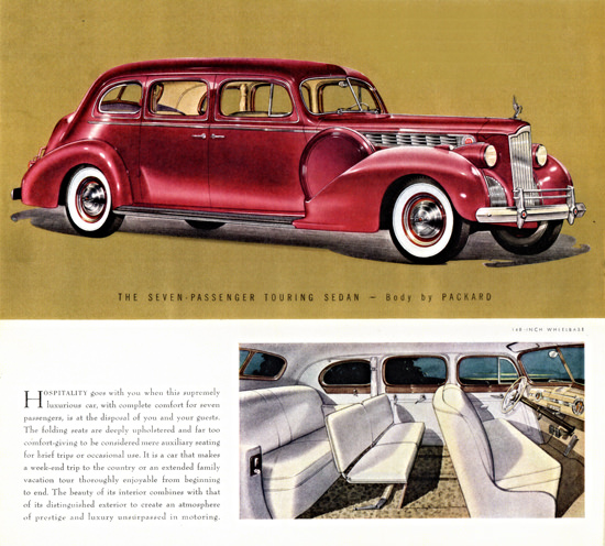 Packard One Eighty Seven P Touring Sedan 1940 | Vintage Cars 1891-1970