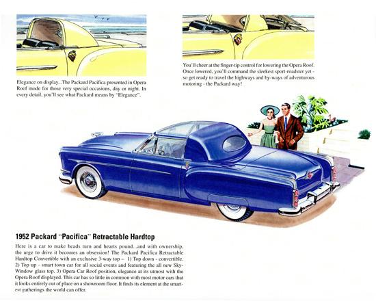 Packard Pacifica Retractable Hardtop 1952 | Vintage Cars 1891-1970