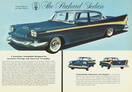 Packard Sedan 1958 | Vintage Cars 1891-1970
