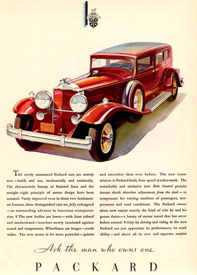 Packard Sedan Limousine 1931 | Vintage Cars 1891-1970
