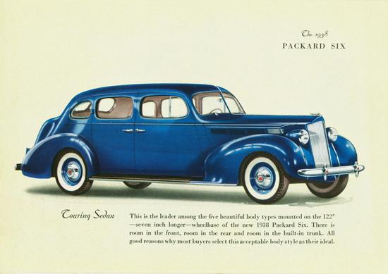 Packard Six Touring Sedan 1938 | Vintage Cars 1891-1970
