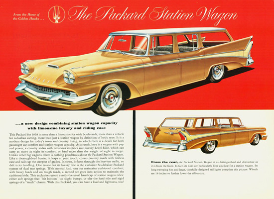 Packard Station Wagon 1958 | Vintage Cars 1891-1970
