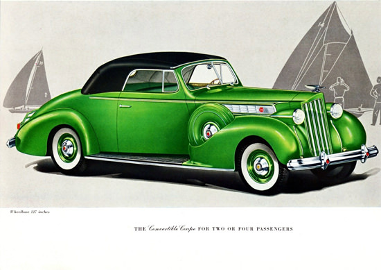 Packard Super 8 Convertible Coupe Two 1939 | Vintage Cars 1891-1970