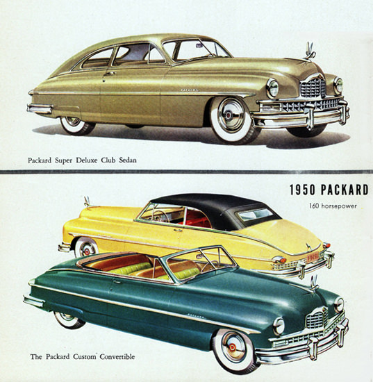 Packard Super DeLuxe Club N Convertible 1950 | Vintage Cars 1891-1970