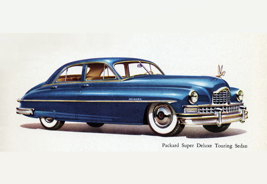 Packard Super DeLuxe Touring Sedan 1950 | Vintage Cars 1891-1970