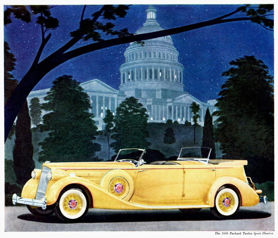 Packard Twelve Sport Phaeton 1936 | Vintage Cars 1891-1970